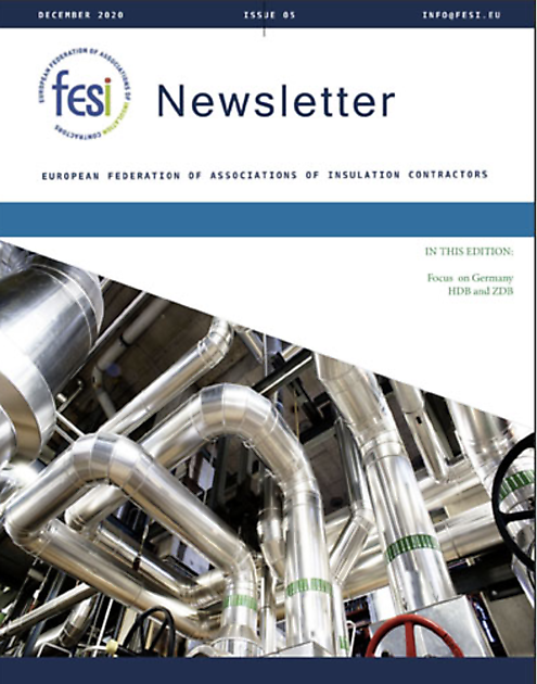 FESI Newsletter issue 5 - FESI – European Federation of Associations of Insulation Contractors