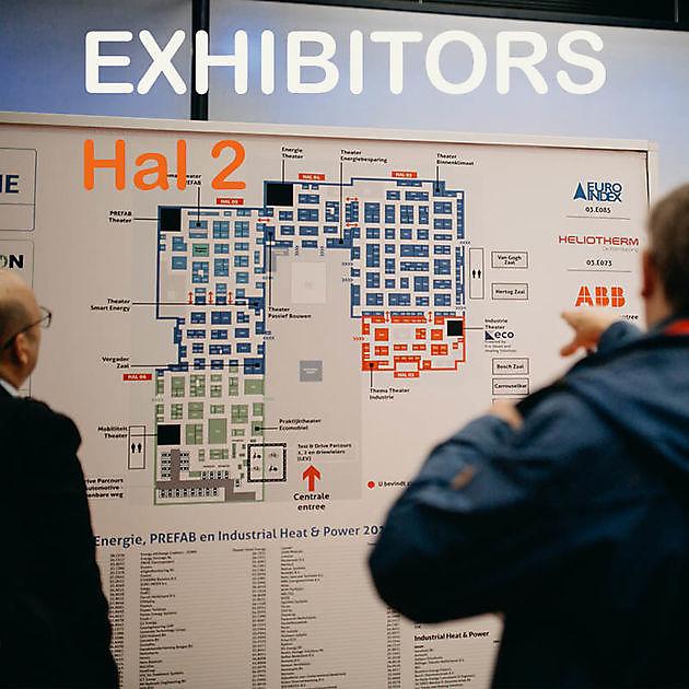Insulation exhibitors in Hall 2