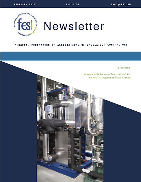 FESI Newsletter Issue 6 - FESI – European Federation of Associations of Insulation Contractors