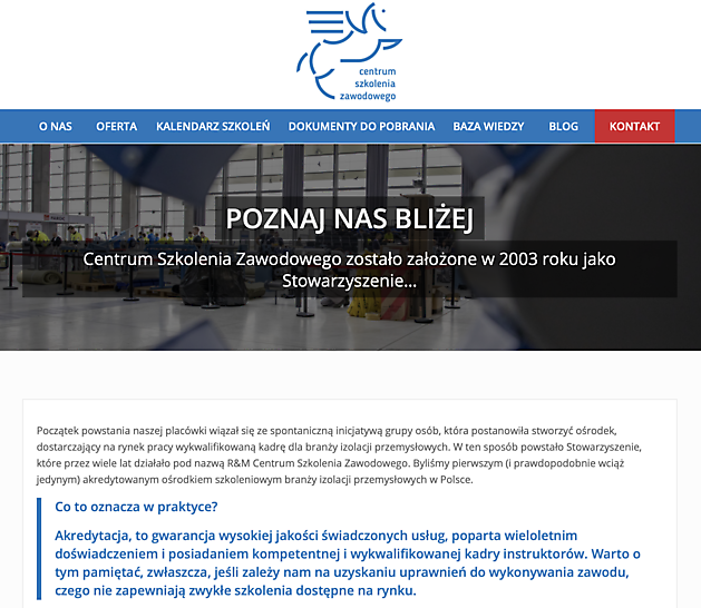 Centrum Szkolenia Zawodowego - FESI – European Federation of Associations of Insulation Contractors